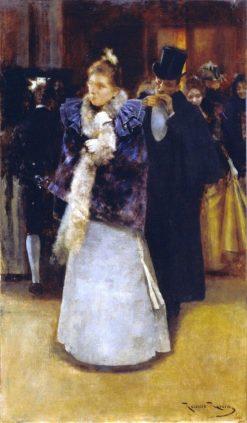 Leaving the Ball | Roman Ribera Cirera | Oil Painting