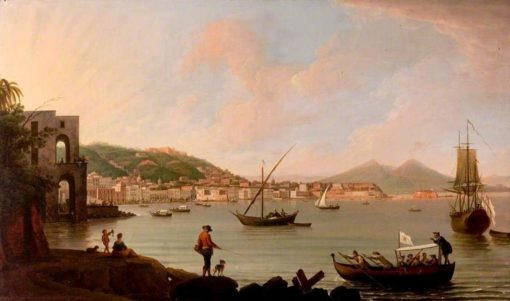 The bay of Naples from Posillippo