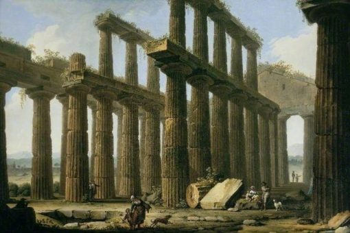 The Temple of Hera at Paestum
