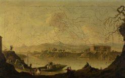 Ferry over the Volturno