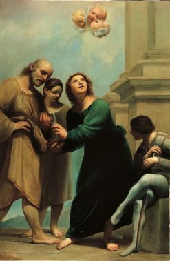 The miracle of Saint John the Evangelist in Ephesus | Guido Cagnacci | Oil Painting