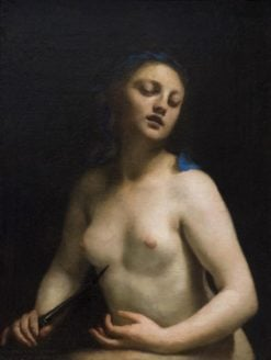 Lucretia | Guido Cagnacci | Oil Painting