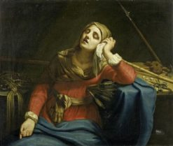 Mater Dolorosa | Guido Cagnacci | Oil Painting