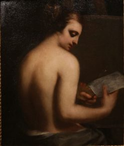 Allegory of Painting | Guido Cagnacci | Oil Painting