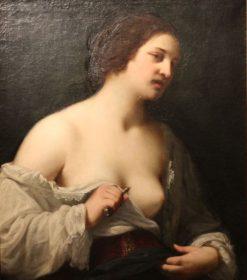 Lucretia   Lavinia Fontana   Oil Painting