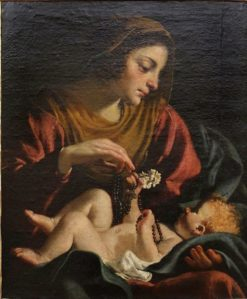 Virgin and Child | Guido Cagnacci | Oil Painting