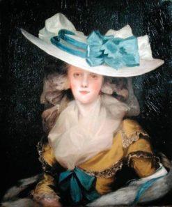 Portrait of Mary Benwell | John Hoppner | Oil Painting