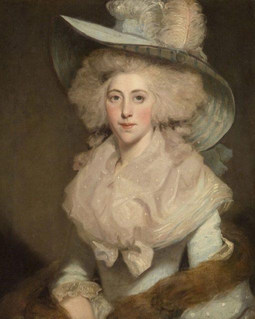 Portrait of Susanna Gyll   John Hoppner   Oil Painting