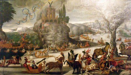 Water (Four Elements) | Claude Deruet | Oil Painting