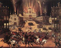 Fire (Four Elements) | Claude Deruet | Oil Painting