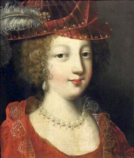 Portrait of a lady in a hat   Claude Deruet   Oil Painting