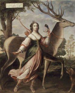 Portrait of Marie de Rohan