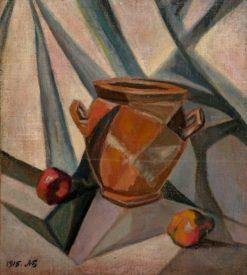 Still Life with a Pot | Alexander Bogomazov | Oil Painting