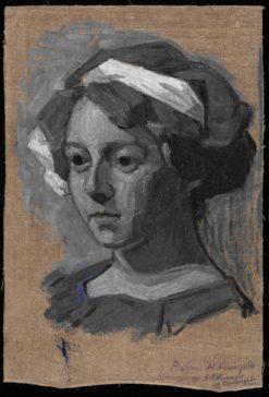 Portrait of Vanda Monastyrskaya | Alexander Bogomazov | Oil Painting