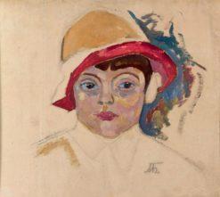 Portrait of Beba | Alexander Bogomazov | Oil Painting