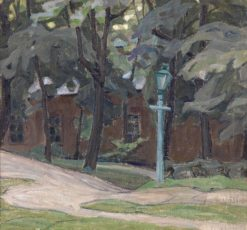Landscape with a Lantern | Alexander Bogomazov | Oil Painting