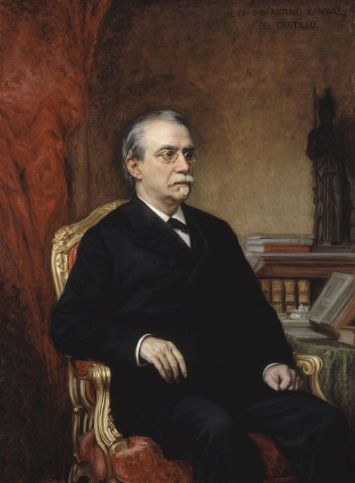 Antonio Cánovas del Castillo | Ricardo de Madrazo y Garreta | Oil Painting