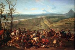 Prince Eugen of Savoy captures Belgrade on 16 August 1717 | Jan van Huchtenburgh | Oil Painting