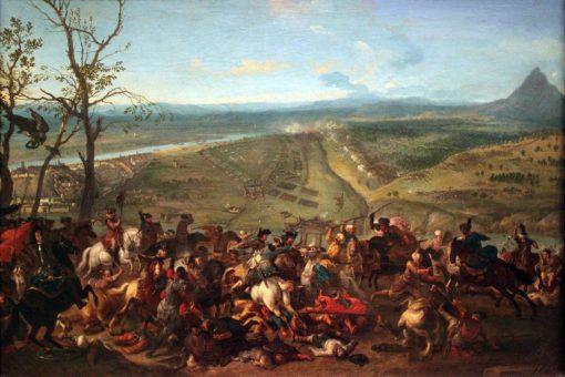Prince Eugen of Savoy captures Belgrade on 16 August 1717 | Jan van Huchtenburgh | Oil Painting