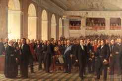 The fathers of the Danish constitution assembled in Copenhagen on October 23
