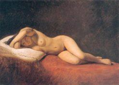 Resting Model | Constantin Hansen | Oil Painting