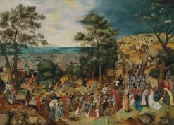 The Road to Calvary | Pieter Brueghel the Younger | Oil Painting