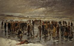 Curling at Carsebreck | Charles Martin Hardie | Oil Painting