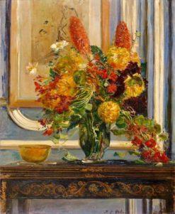 The Bouquet of Flowers | Jacques-Émile Blanche | Oil Painting