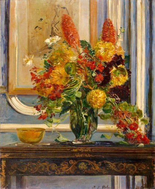 The Bouquet of Flowers | Jacques-Émile Blanche | Oil Painting
