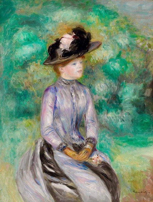 Adrienne | Pierre Auguste Renoir | Oil Painting