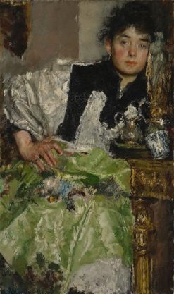 Lost in Thought | Antonio Mancini | Oil Painting