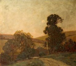 A Cornish Homestead | Benjamin Haughton | Oil Painting