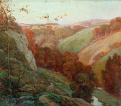 A Devon Valley | Benjamin Haughton | Oil Painting