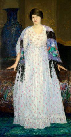 Portrait de Madame Constant Montald | Constant Montald | Oil Painting