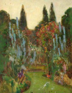A Garden | Benjamin Haughton | Oil Painting