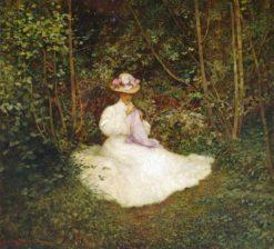 A Summer Morning   Benjamin Haughton   Oil Painting