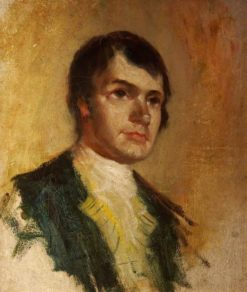 Robert Burns   Charles Martin Hardie   Oil Painting