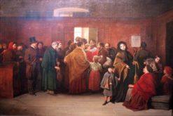 The pawshop | Friedrich Friedlander | Oil Painting
