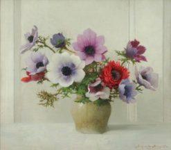 Anemones | Benjamin Haughton | Oil Painting