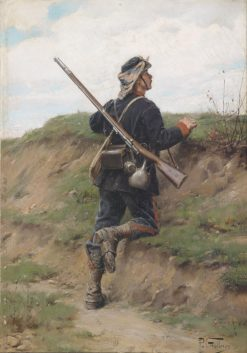 The Guard Post | Paul-Louis-Narcisse Grolleron | Oil Painting