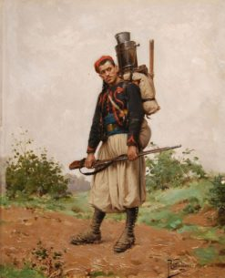 Zouave | Paul-Louis-Narcisse Grolleron | Oil Painting