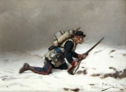 The Scout | Paul-Louis-Narcisse Grolleron | Oil Painting
