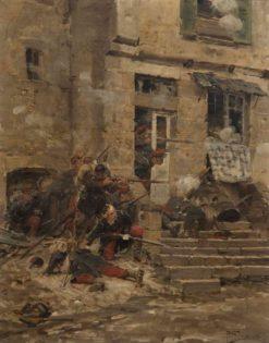 The ambush | Paul-Louis-Narcisse Grolleron | Oil Painting