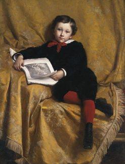 Portrait of a Boy | Paul-Louis-Narcisse Grolleron | Oil Painting