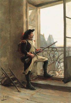 Keeping watch | Paul-Louis-Narcisse Grolleron | Oil Painting