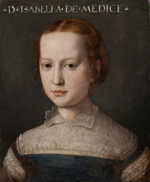 Isabella de' Medici | Agnolo Bronzino | Oil Painting
