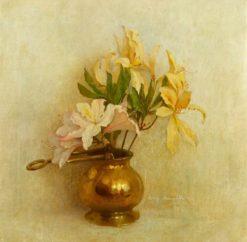 Azaleas | Benjamin Haughton | Oil Painting
