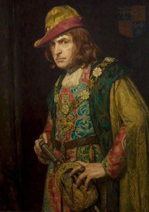 Sir John Martin-Harvey as Richard III | John Bernard Munns | Oil Painting