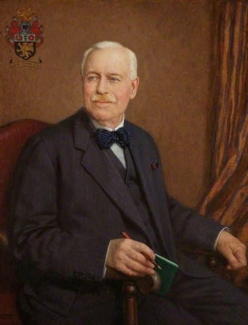 Sir Robert Jones | John Bernard Munns | Oil Painting