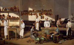 Inside the Cafe de Paris | Jean Leon Pallière | Oil Painting